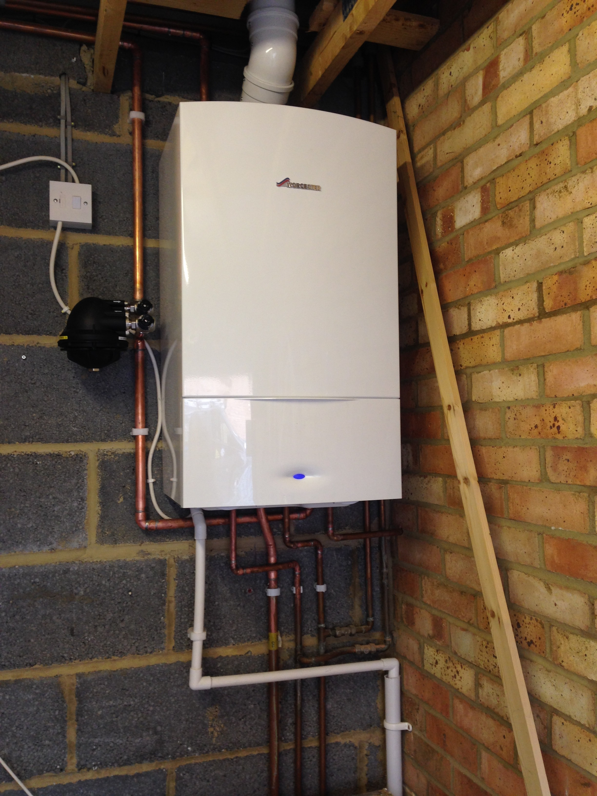 New Boiler Installation - Plumbing & Heating Services in Leighton ...